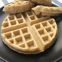 Savory Cheesy Waffles by The Allergy Chef