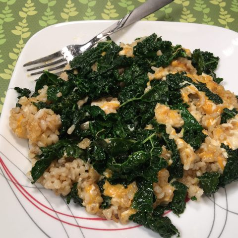 Cheesy Kale by The Allergy Chef