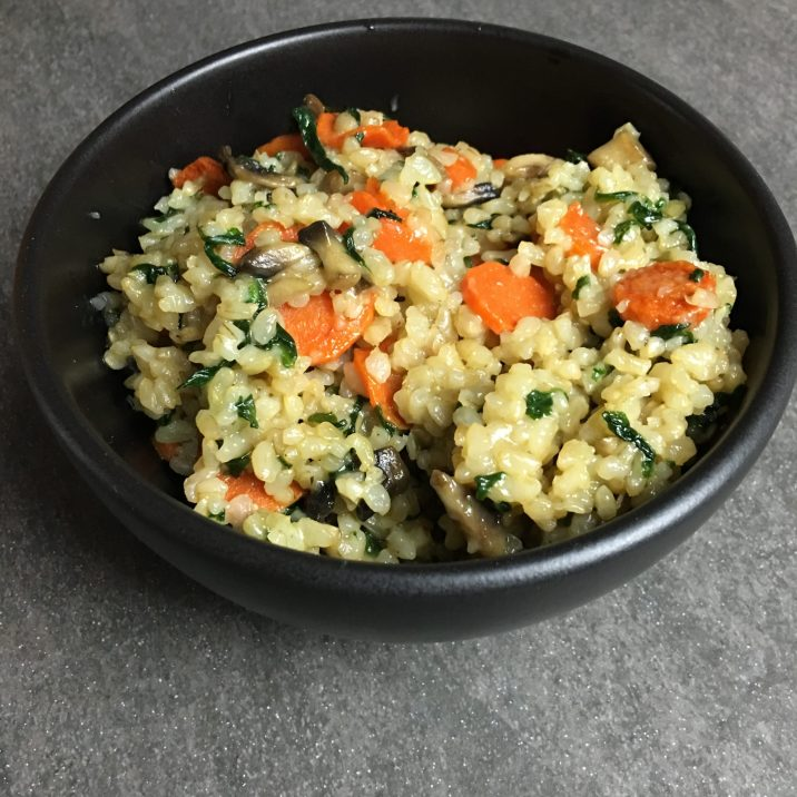 Delicious Rice Cookup by The Allergy Chef