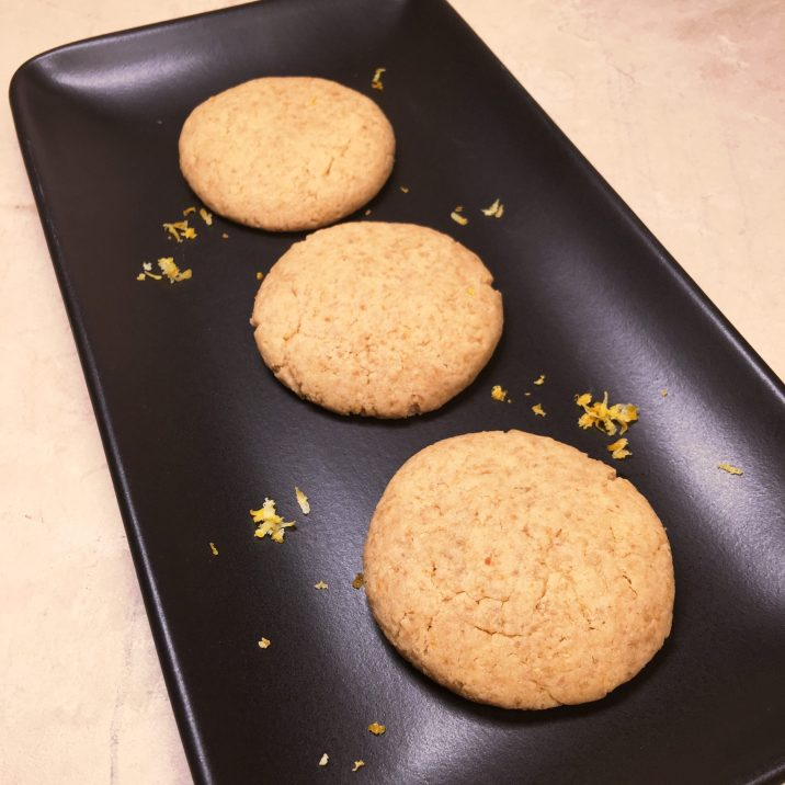 Corn Free Lemon Cookies by The Allergy Chef