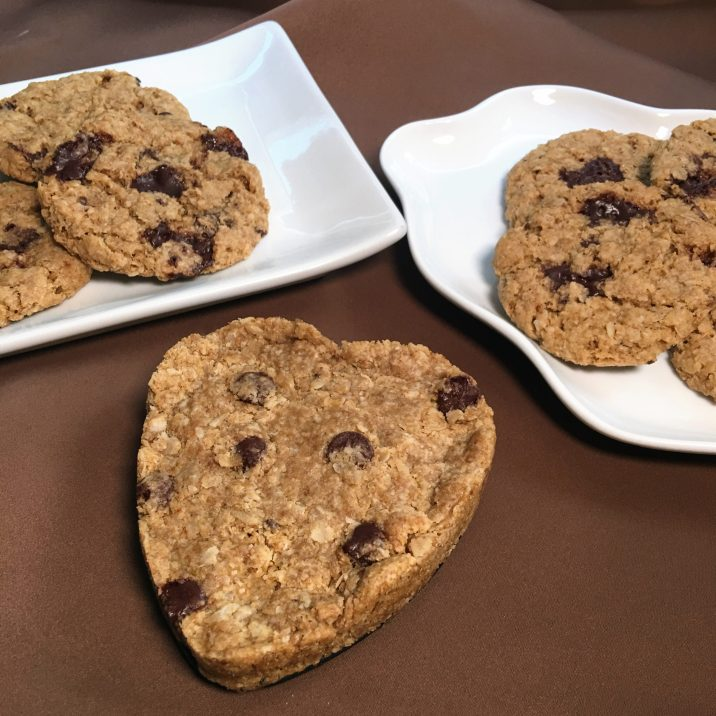 Chocolate Chip Oatmeal Cookies by The Allergy Chef