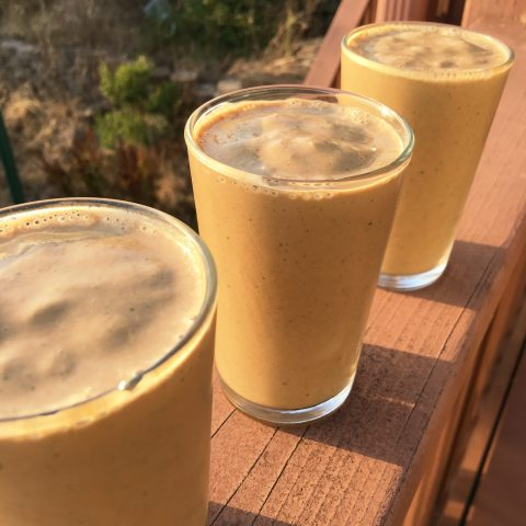 Sun Butter Bliss Smoothie by The Allergy Chef