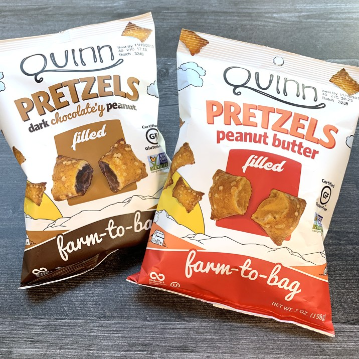 Quinn Filled Pretzels