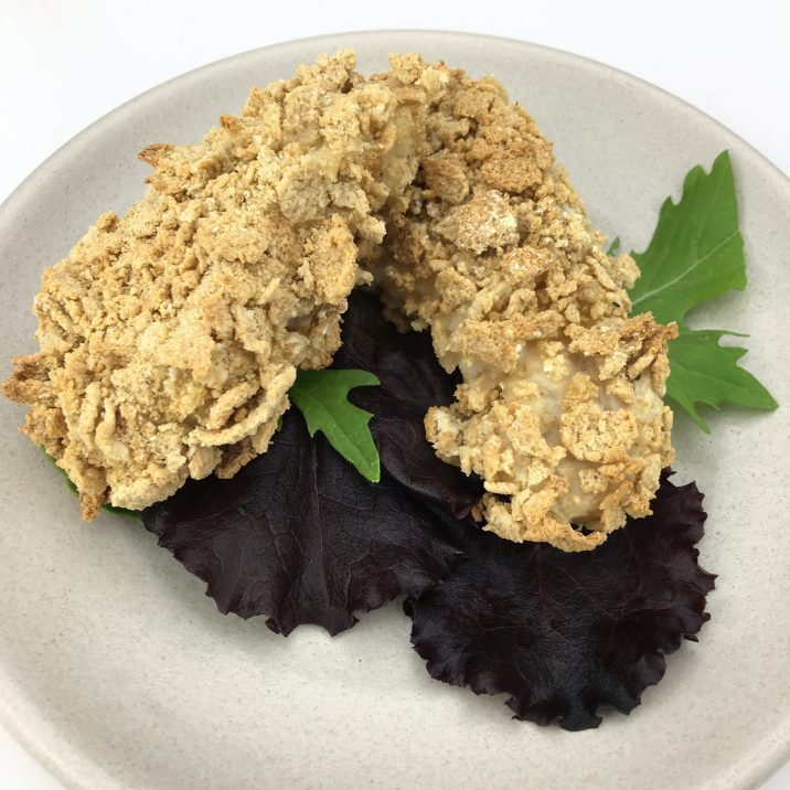 Gluten Free Crispy Oven Baked Chicken by The Allergy Chef