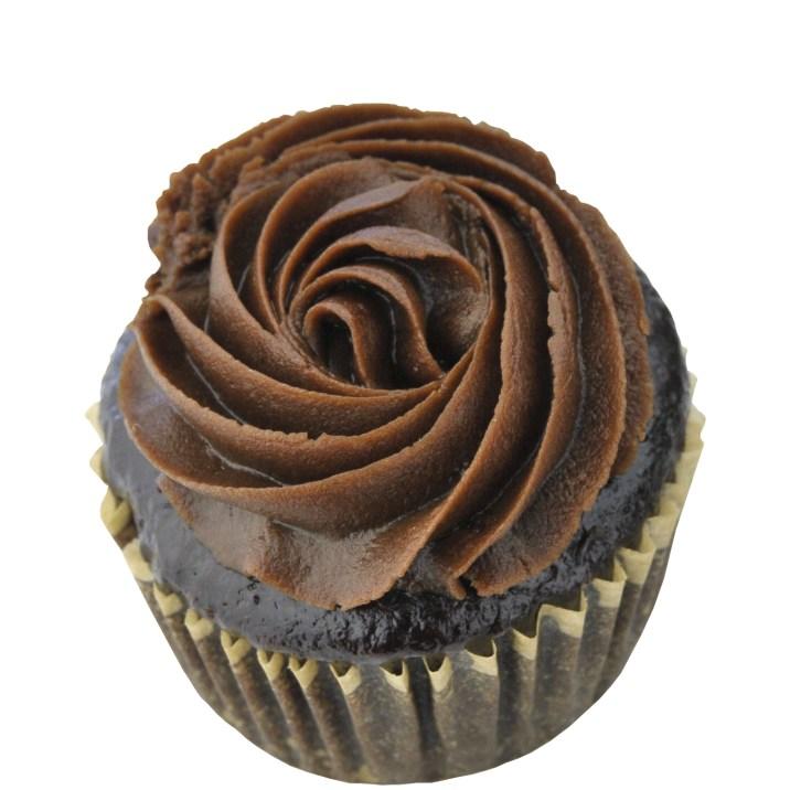Gluten Free Vegan Chocolate Buttercream Cupcake by The Allergy Chef