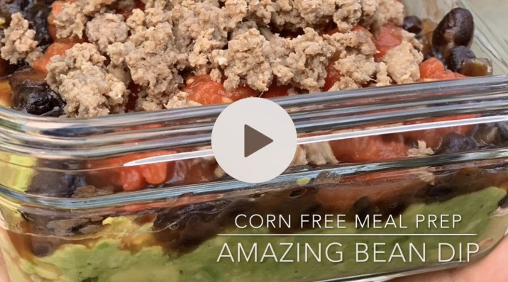 Corn Free Creamy Bean Dip by The Allergy Chef