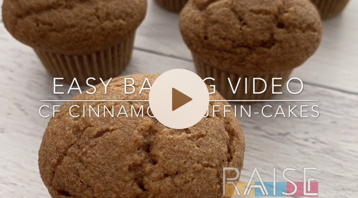 Corn Free Cinnamon Muffins by The Allergy Chef