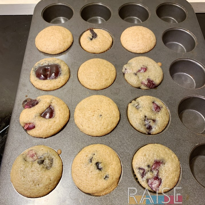 Corn Free Gluten Free Vegan Cherry Cupcakes by The Allergy Chef