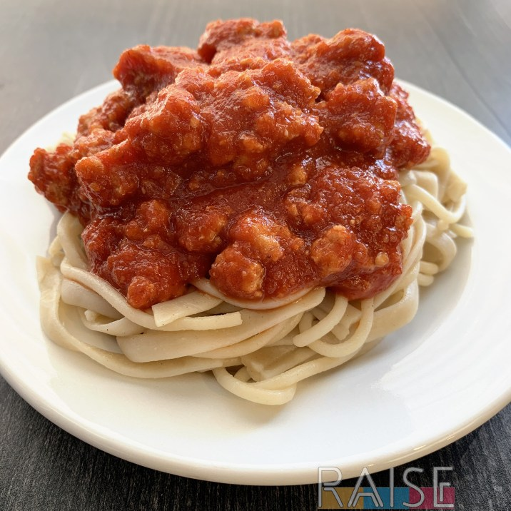 Gluten Free, Top 8 Allergy Free, Sloppy Joe Pasta by The Allergy Chef