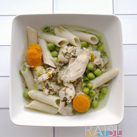 Gluten Free Chicken Noodle Soup by The Allergy Chef