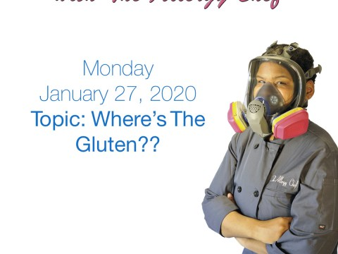 Talking About Where's The Gluten with The Allergy Chef