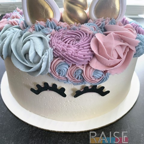 Gluten Free, Vegan, Top 8 Allergy Free Unicorn Cake by The Allergy Chef