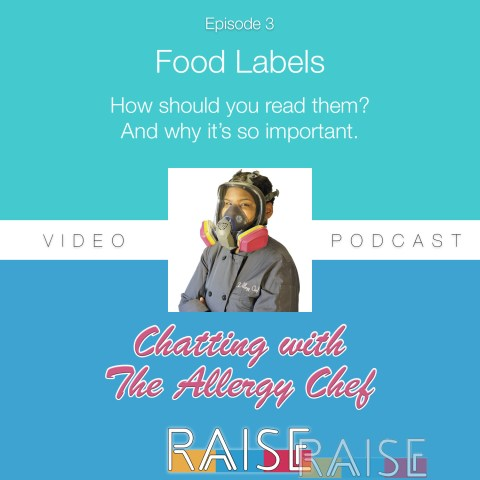 Chatting With The Allergy Chef Episode 3