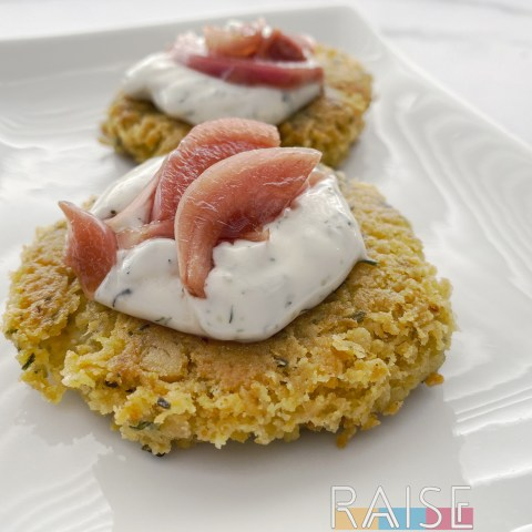 Chickpea Patties by The Allergy Chef