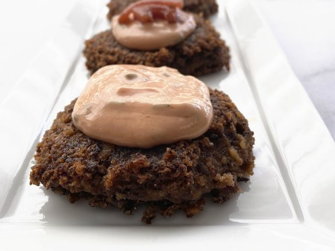 Gluten Free, Vegan, Top 8 Free Black Bean Patties by The Allergy Chef