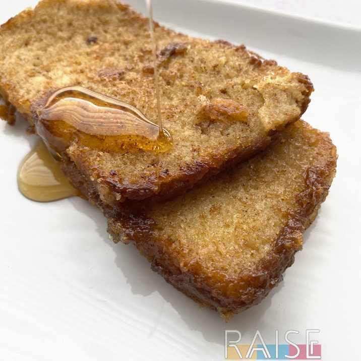 Gluten Free, Egg Free, Top 8 Free French Toast by The Allergy Chef