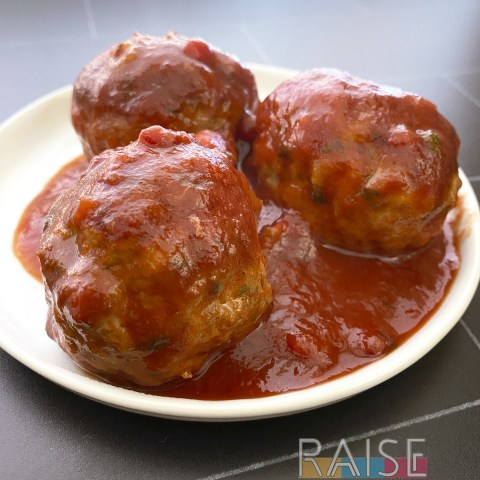 Gluten Free Jelly Meatballs by The Allergy Chef