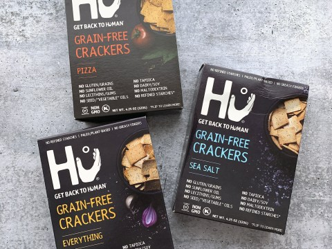 Hu Grain Free Crackers