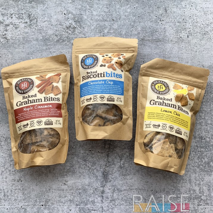 Home Healing Foods Baked Bites
