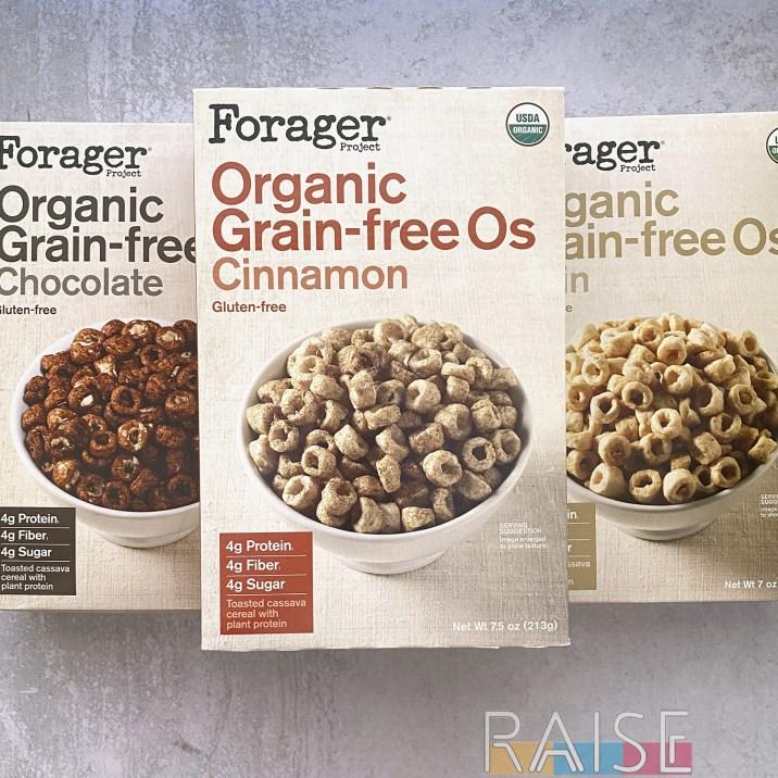 Forager Organic Grain Free O's