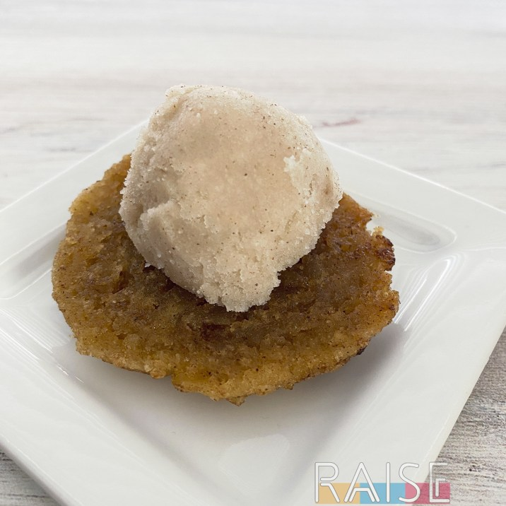 Corn Free French Toast Ice Cream by The Allergy Chef