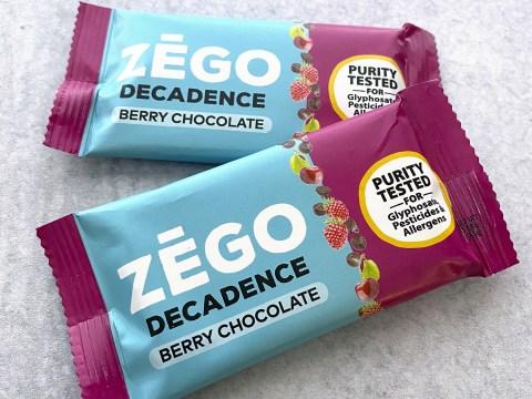 Zego Foods Decadence Berry Chocolate Bar