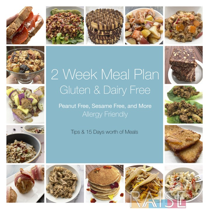 2 Week Meal Plan by The Allergy Chef
