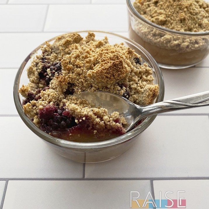 Spooning Crumble by The Allergy Chef