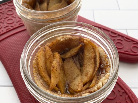 Corn Free, Gluten Free, Vegan Apple Pie Cups by The Allergy Chef