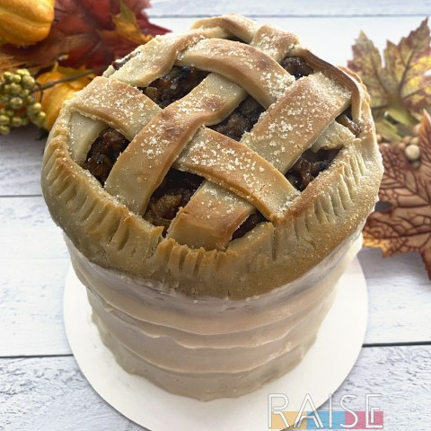 Gluten Free, Vegan, Apple Pie Cake by The Allergy Chef