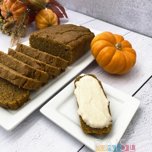 Gluten Free Pumpkin Bread by The Allergy Chef