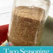Organic Gluten Free Taco Seasoning Mix
