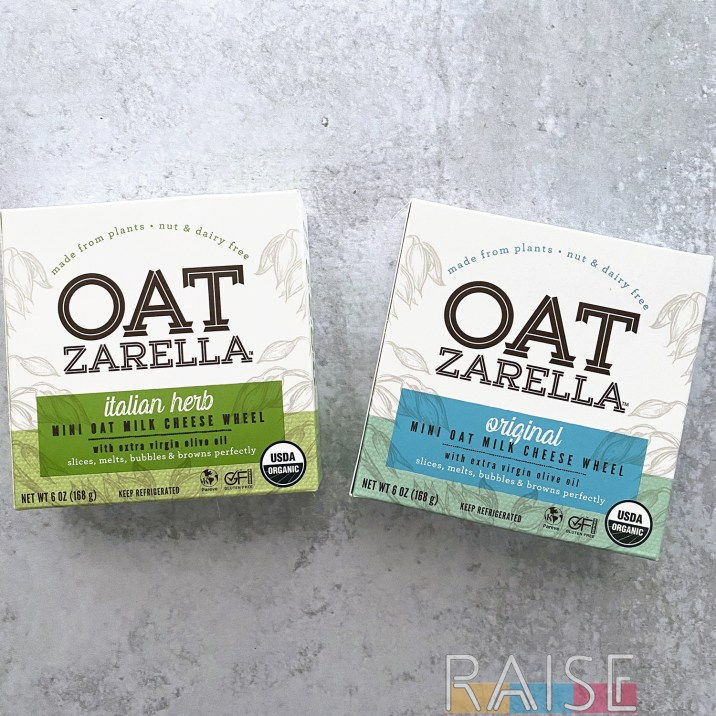 Oatzarella Dairy Free, Vegan Cheese by The Allergy Chef