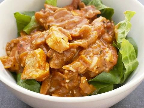 Gluten Free, Dairy Free Chicken Parmesan Pasta Salad by The Allergy Chef