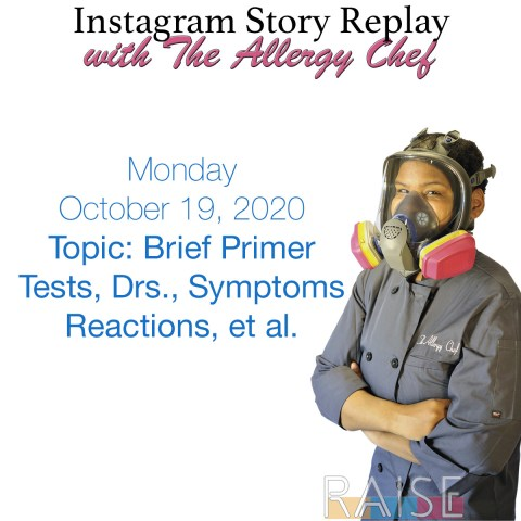 Instagram Story Replay with The Allergy Chef