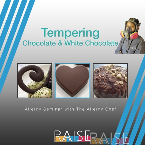 Chocolate Tempering Allergy Seminar with The Allergy Chef
