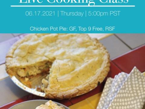 Gluten & Dairy Free Chicken Pot Pie by The Allergy Chef