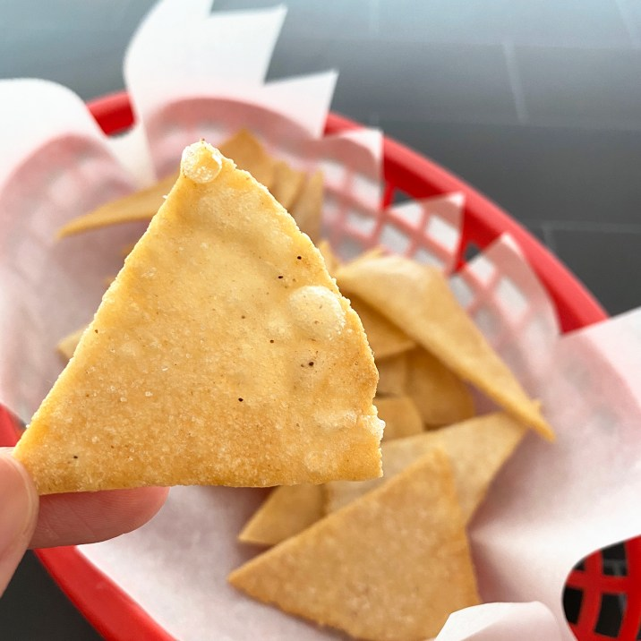 Gluten Free, Grain Free, Corn Free Tortilla Chips by The Allergy Chef
