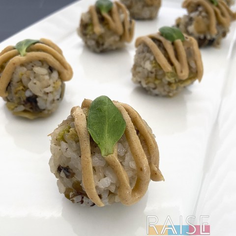 Sushi Rice Balls by The Allergy Chef