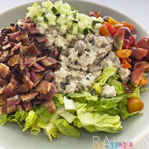 Allergy Friendly Greek Chicken Salad by The Allergy Chef