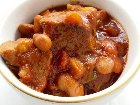 Allium Free Pork & Pepper Stew by The Allergy Chef
