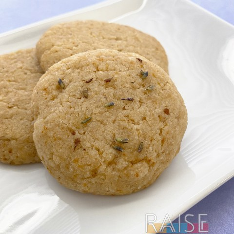 Gluten Free Honey Lavender Cookies by The Allergy Chef