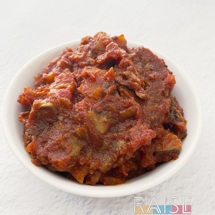 Allium Free Vegan Chunky Pasta Sauce by The Allergy Chef
