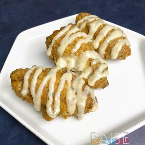 Gluten Free Garlic Parmesan Chicken Wings by The Allergy Chef