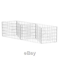 Gabion Basket/Planter/Raised Stone Cage Vegetable Bed