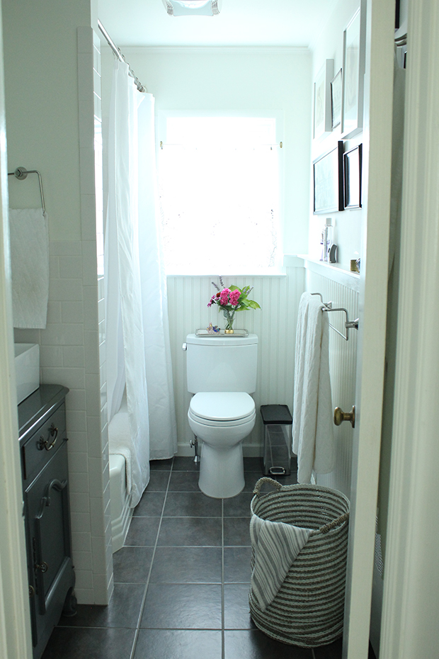 raised by design - bathroom renovation after