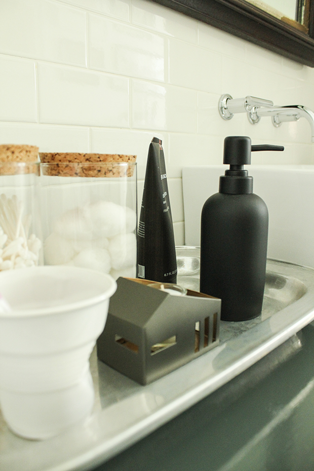 raised by design - bathroom renovation - soap tray