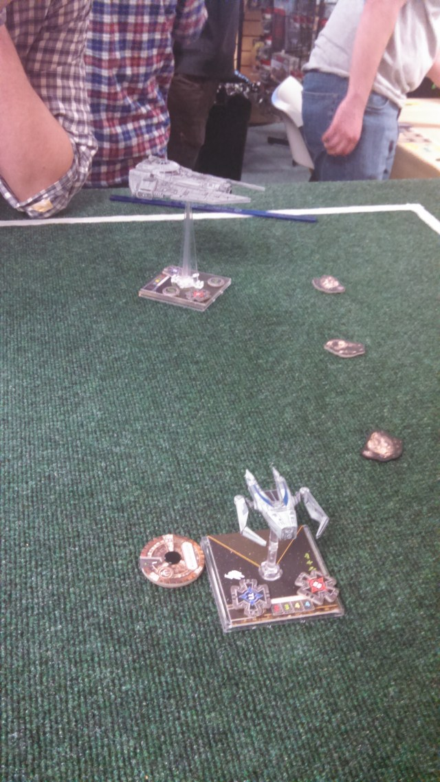 Chiraneau and IG-88 Face off - Chiraneau at the disadvantage