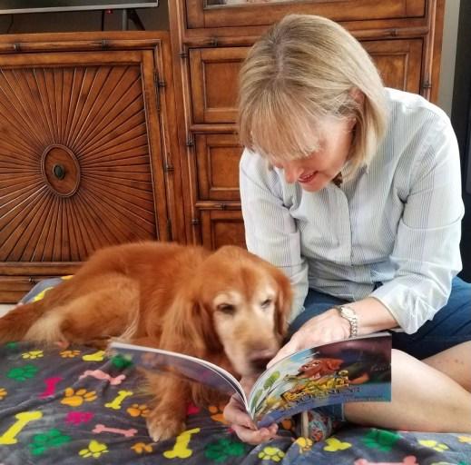Author Julie Iribarren reads Levi his story