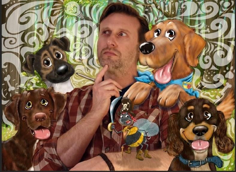Martin Peers, illustrator and cartoonist, Toast Cartoons